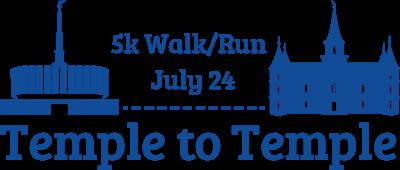 Temple To Temple 5k Run / Walk